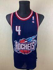 HOUSTON ROCKETS BARKLEY NBA VINTAGE BASKETBALL JERSEY SHIRT CHAMPION SIZE L 48