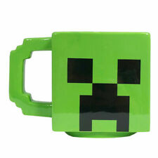 OFFICIAL MINECRAFT CREEPER SCULPTED COFFEE MUG CUP NEW IN GIFT BOX
