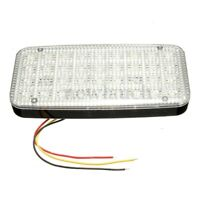 DC 12V Bright White 36 LED Car Van Vehicle Roof Dome Interior Light Hat Lam J2O8