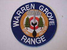 USAF PATCH - 177th FIGHTER WING WARREN GROVE RANGE NEW JERSEY FULL COLOR :GA15-2