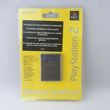 Sony Playstation 2 PS2 - Memory Card 8MB Black NEW SEALED
