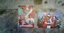 1996 SCOREBOARD TROY AIKMAN W/ SANTA + 1993 DALLAS COWBOYS CHEERLEADERS W/SANS