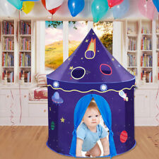 Portable Toy Tent Outer Space Castle Play Tent Kids Indoor Outdoor Playhouse
