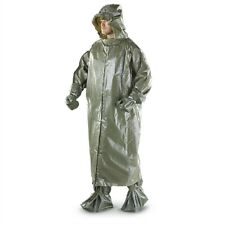 Czech Army Military Surplus Chemical Suit with leggings hood gloves - Unissued