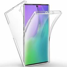 Galaxy Note 10 Case 360 Degree Protection [2 in 1 Hard PC Back + Soft TPU Front]