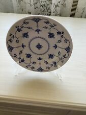 COLLECTABLE CHURCHILL CHINA DINNER PLATE BLUE & WHITE FLOWERS MADE IN ENGLAND