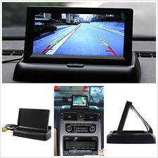 """DC12V Foldable 4.3"""" TFT LCD Car Off-Road Reverse Backup Colourful Monitor Screen"""