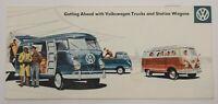 1959 Volkswagen VW Trucks Vans Bus Station Wagon Dealership Sales Brochure Vtg