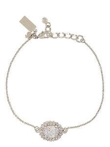 Kate Spade Sweet Sparkle Bracelet, Cubic Zirconia, Silver tone, NWT