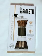 Bialetti Manual Hand Coffee Grinder Low Noise Design NEW