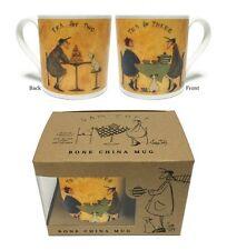 SAM TOFT (thé pour deux thé 3) Tasse en porcelaine fine boîte cadeau mgbc23809