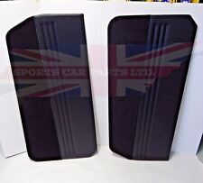 New Pair of Door Panels for Triumph GT6 MK1 MK2 1967-1970 Black Made in the UK