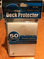 Ultra Pro Package of Card Sleeves from Box   Powder White   50 sleeves  NEW