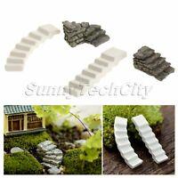 Mini Steps Stairs Bridge Fairy Garden Ornament Miniature Resin DIY Bonsai Decor