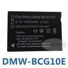 DMW-BCG10 DMW-BCG10E Battery for Panasonic Lumix TZ6 TZ7 TZ8 TZ10 TZ20 TZ18 TZ30