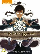 Legend of Korra Book 1, 2, 3 & 4 DVD R4 from Avatar The Last Airbender