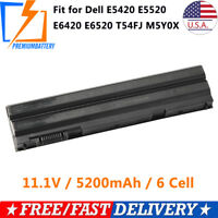 New 60Wh Battery for Dell Latitude E5420 E6420 E6520 E6530 T54FJ M5Y0X Laptop
