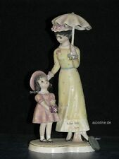 "+*A012492_03 Goebel  Archivmuster Huldah Figurine Hul705 ""Michele&Madelaine""TMK4"