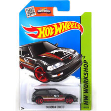 Hot Wheels 1:64 Diecast Car Models Collection Kids Toy Child Honda Civic EF