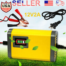 12V Car Battery Charger Maintainer Auto Trickle Rv for Tender Truck Motorcycle