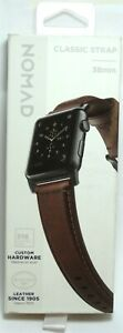 Nomad - Classic Leather Watch Strap for Apple Watch 38mm - Brown