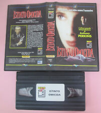 VHS film ISTINTO OMICIDA 1993 Anthony Perkins MULTIVISION 10017484 (F169) no dvd