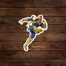 Captain Falcon Decal/Sticker