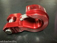 MONSTER HOOK MH-SW1R Red Aluminum Monster Swivel Hook for Trailer Hitch