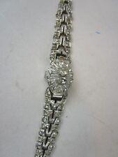 Ladies Geneva 17 jewel hidden snap watch face