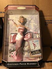 Vintage Barbie Marilyn Monroe Gentlemen Prefer Blondes Pink Doll Hollywood Nrfb