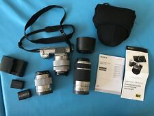 Sony Alpha NEX-5N 16.1MP Digital Camera - Silver (Kit w/ 16mm and 18-55mm...