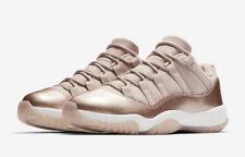 Nike Air Jordan 11 Retro Low Rose Gold Women's Size 7.5-10.5 Sail Red AH7860-105
