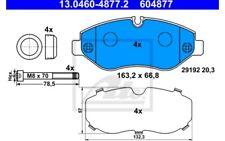 4x ATE Pastillas de Freno Delanteras Para MERCEDES-BENZ SPRINTER 13.0460-4877.2
