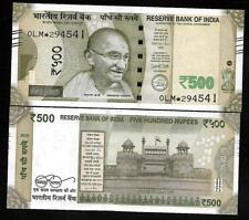 "Rs.500/- Urjit Patel  Star Note ""E"" Inset  Prefix 0LM  2016 - UNC  LATEST"
