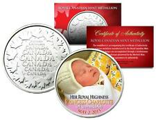 PRINCESS CHARLOTTE of Cambridge - Colorized Royal Canadian Mint Coin Medallion