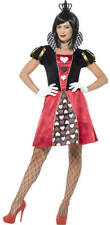 Smiffys Womens Carded Queen Fancy Dress Costume Small (uk Size 8 - 10) 45490s