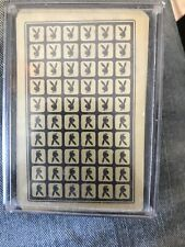 Vintage Playboy Bunny Casino Playing Cards