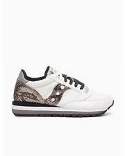 Scarpe donna Saucony Jazz Triple S60550 1 bianco pelle sneakers sportiva casual