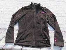 Womens NORTH FACE Morningside OSITO Pink Ribbon Cancer Sweater Jacket Medium