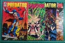 Predator #1 2 3 4  (1989) Dark Horse VF 2nd Print 1st Appearance Key MCU Marvel