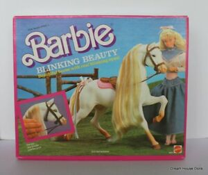 1987 Barbie Blinking Beauty Horse, NRFB,  #5087 SEALED IN BOX NEVER OPENED