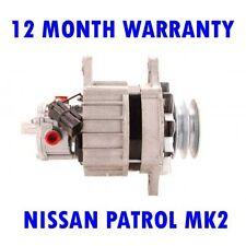 NISSAN PATROL MK2 MK III 1989 1990 1991 1992 1993 1994 1995 RMFD ALTERNATOR