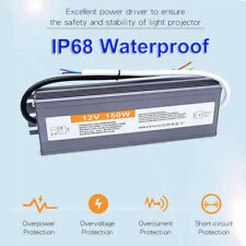 AC 240V TO DC 12V 24V Power Supply Adapter Transformer LED Light IP68 Waterproof