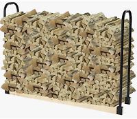 Adjustable Firewood Rack Bracket Kit Organizer Durable Steel Durable New