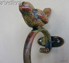 Iron Bird Towel Hook - Coat Bath Robe Hat Metal - New Finish
