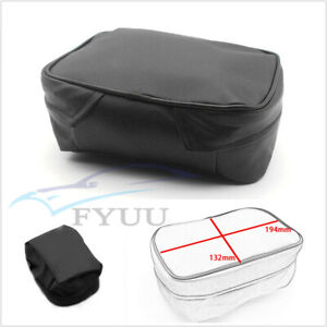 Waterproof PU Leather Off Road Motorcycle Tool Kit Tail Storage Bag Universal X1
