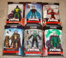 MARVEL LEGENDS VILLIANS LOT HASBRO MYSTERIO HYDRO MAN RED GOBLIN NO RESERVE!