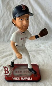 Forever Collectibles Mike Napoli Boston Red Sox MLB Bobblehead - New!!