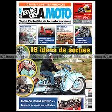 LA VIE DE LA MOTO LVM N°786 ★ CYCLO PUCH ★ VELOCETTE 350 MAC VESPA PX 125 & 200