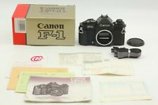 【 MINT in Box 】 Canon New F-1 AE finder 35mm SLR Film Camera From Japan #1692